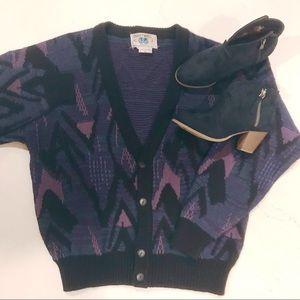 👾SOLD👾Vintage Cardigan Sweater